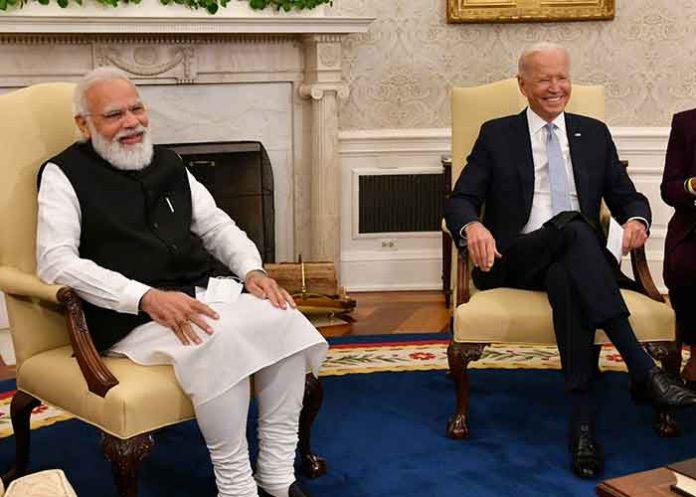 Joe Biden Narendra Modi White House