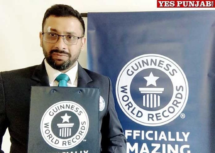 LPU Students Guiness Book of World Records
