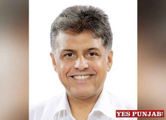 Manish Tewari will