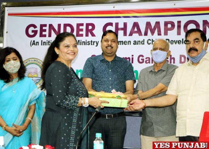 Manisha Gulati inaugurates Gender Champions Club