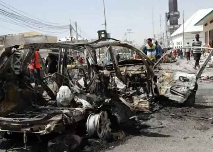 Mogadishu suicide bombing