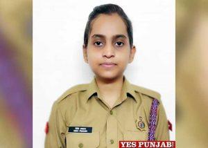 Nidhi Prakash LPU NCC student