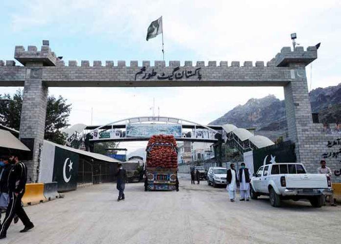 Pak Afghan Torkham border