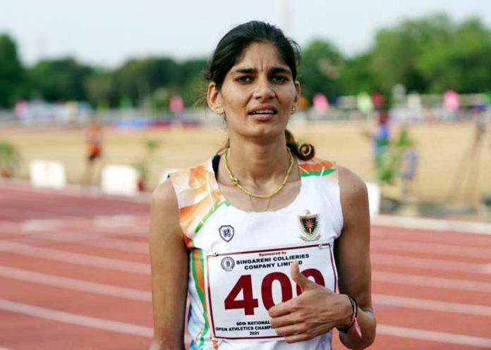 Parul Chaudhary Athletics