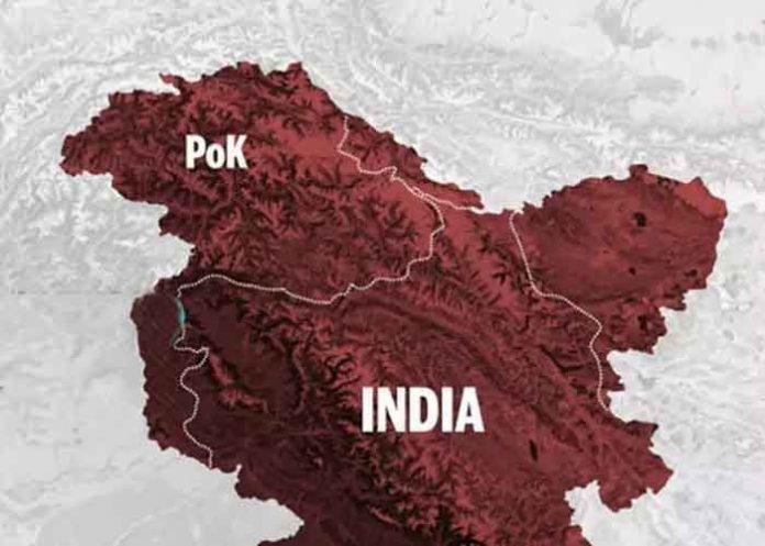PoK Pakistan occupied Kashmir Map