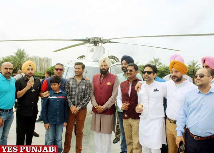 Rana Sodhi inaugurates Private Helicopter Services Ludhiana