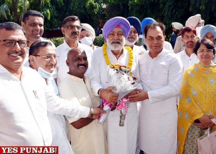 Sangat Singh Giljian visit Hoshiarpur
