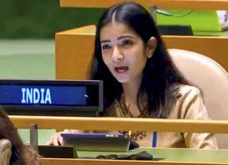 Sneha Dubey IFS UN