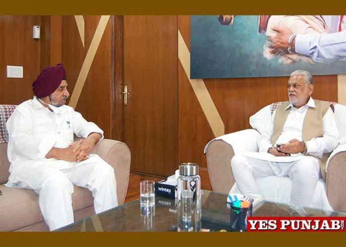Tript Bajwa meet Purshotam Rupala