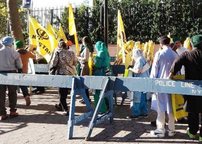 UN Modi Protests