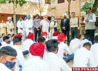 Ajay Tewari PSLSA visit village