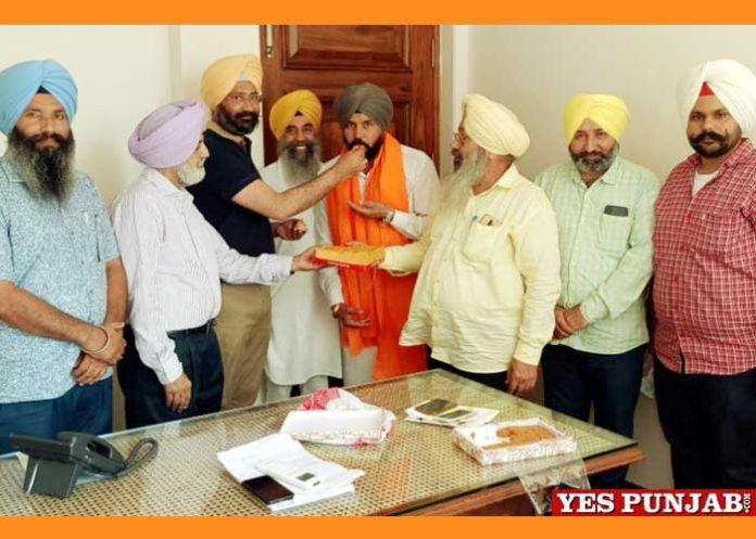 Akali Dal Sanyukt appointed Jagtar Singh Tara Malwa zone1