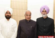 Banwarilal Purohit administers oath to Jagbans Singh