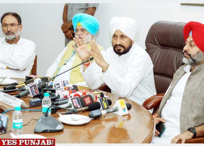 CM Channi announces Mera Ghar Mere Naam Scheme