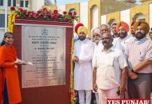 Channi lays foundation stone of Panorma Project