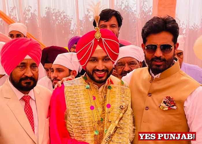 Charanjit Channi Son Wedding 1