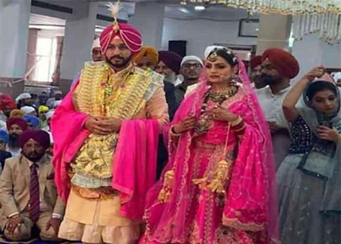 Charanjit Channi Son Wedding 2