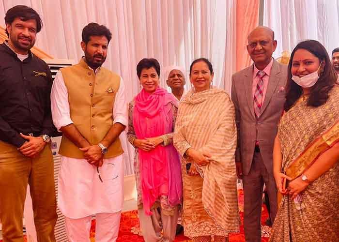 Charanjit Channi Son Wedding 3