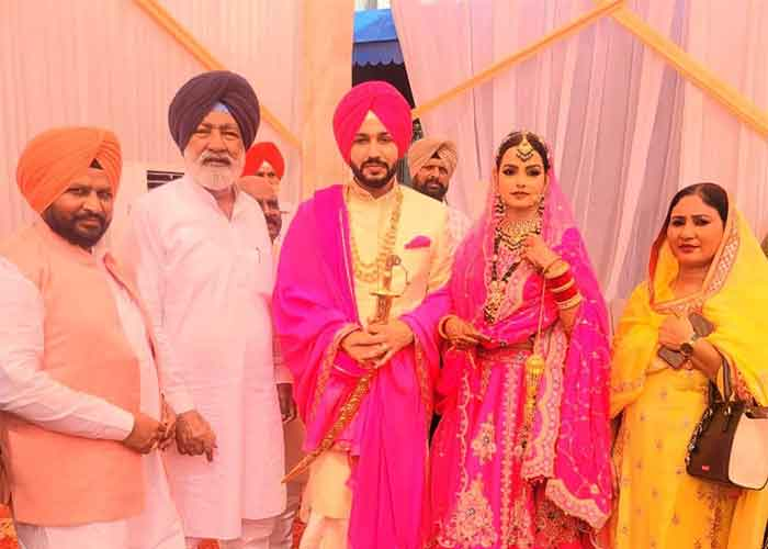 Charanjit Channi Son Wedding 4