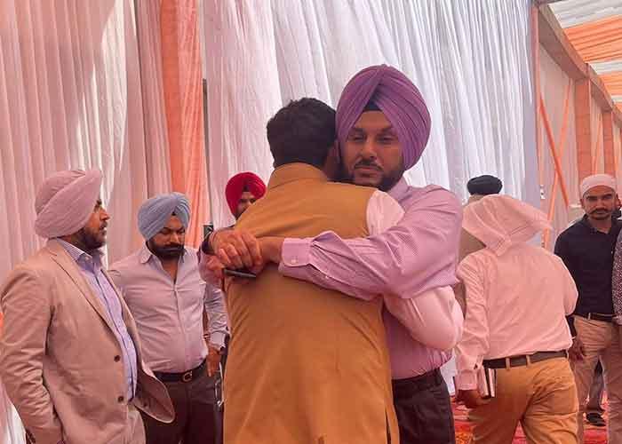 Charanjit Channi Son Wedding 5