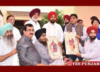 Charanjit Channi honoured by Socities Hoshiarpur