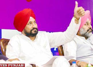 Charanjit Singh Channi CM sitting