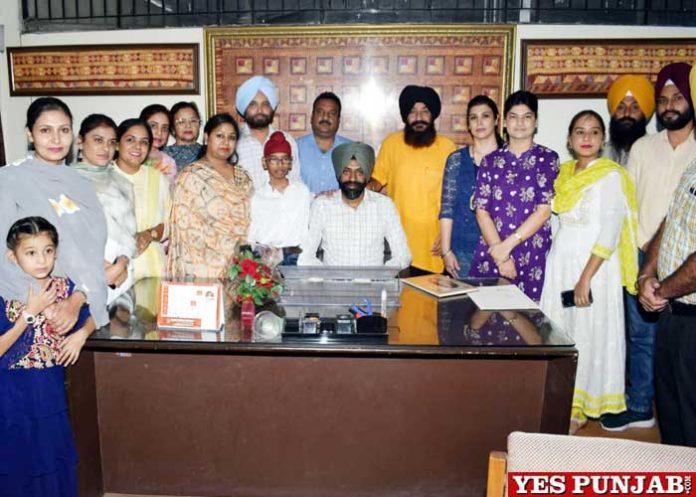 Dr Manjinder Singh take over head of Punjabi GNDU