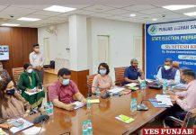 ECI reviews poll preparednewss Punjab Elections 2022