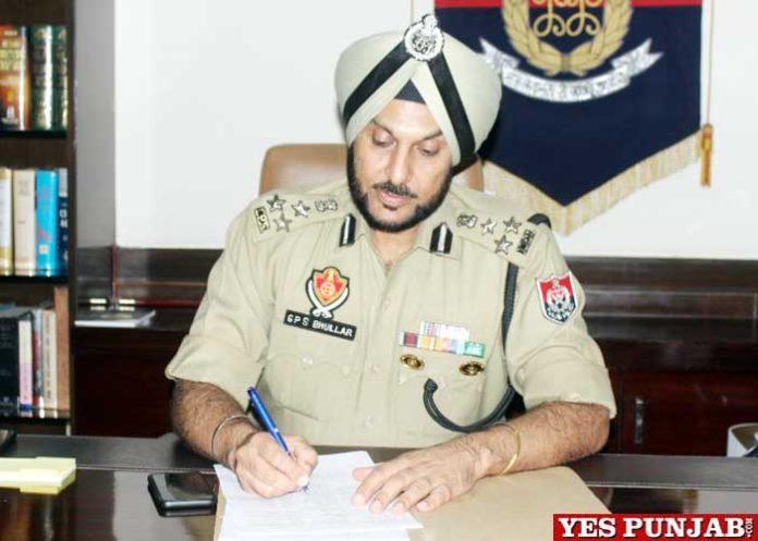 Gurpreet Singh Bhullar IPS Commissioner Ludhiana Police