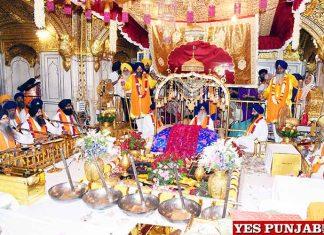 Guru Ramdass Prakash Purab Golden Temple