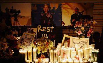 Halyna Hutchins candlelight vigil