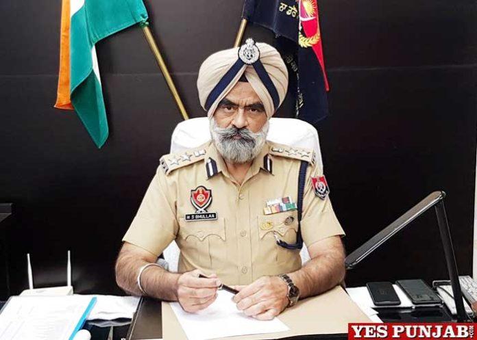 Harcharn Singh Bhullar SSP Patiala