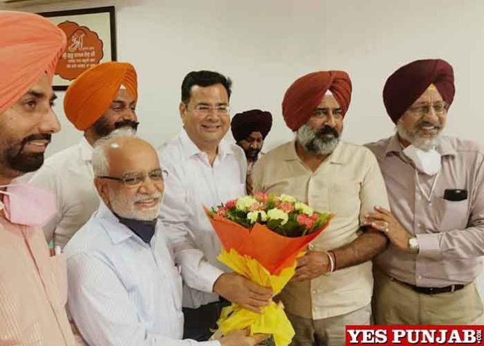JAC delegation meet Pargat Singh