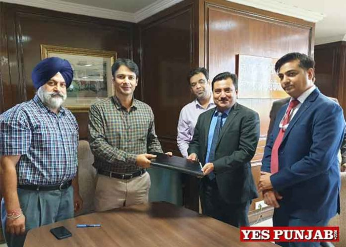 Markfed signs Agreement with SBI Life Insurance