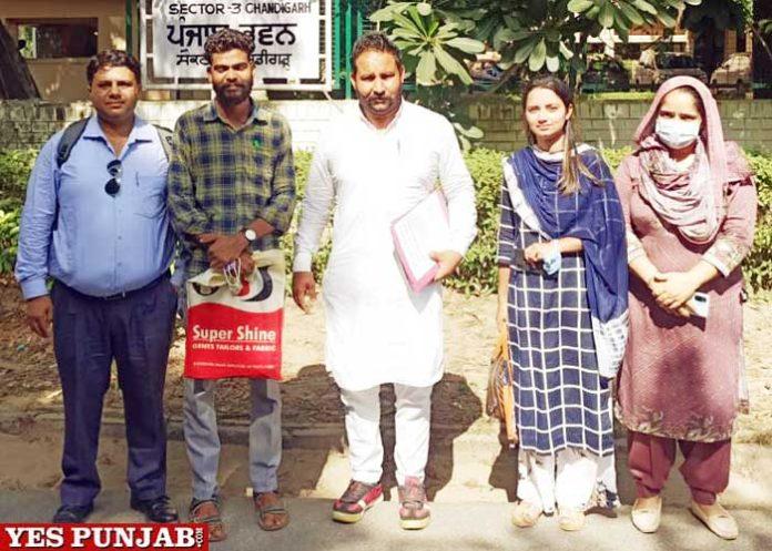 Meritorious Schools Teachers Union meeting Pargat Singh