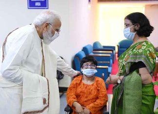 Modi visit Ram Manohar Lohia Hospital