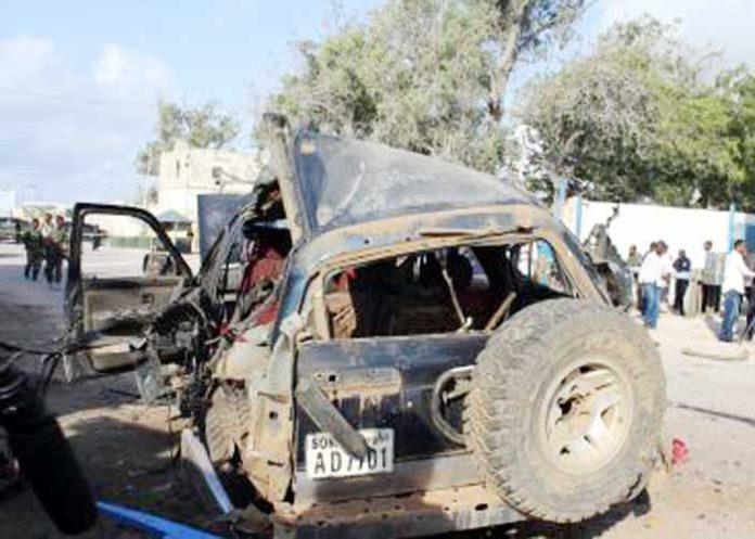 Mogadishu Somali Suicide Bombing