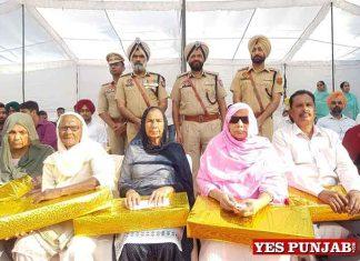 Mukhwinde Singh Chhina during Commemoration Day Patiala