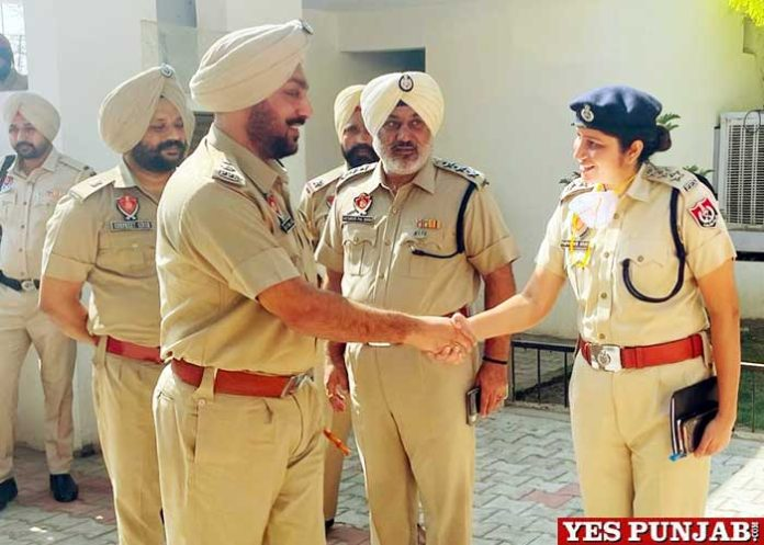 Mukhwinder Singh Bhullar assumed SSP Batala