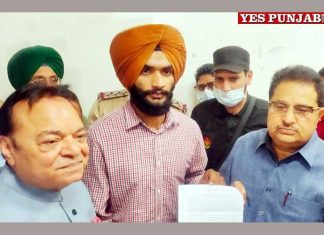 OP Soni hands over appointment letter