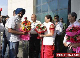 Pargat Singh during DAV University visit Jalandhar