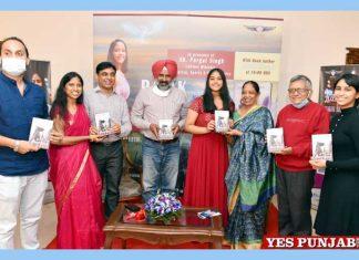 Pargat Singh releases Science Fiction novel by Khushi Sharma
