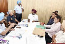 Pargat Singh sports meeting