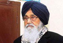 Parkash Singh Badal into