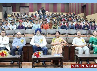 Prof Rajeev Ahuja Buta Singh visit MRSPTU Campus
