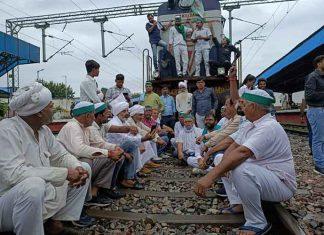 Rail Roko Modinagar railway station