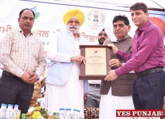 Rana Gurjeet Singh honoured at Piplanwala