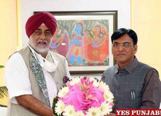 Randeep Nabha meet Mansukh Mandaviya