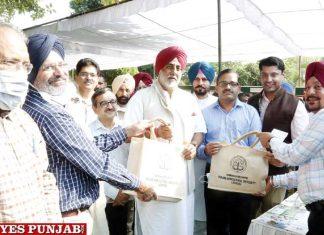 Randeep Singh Nabha visits PAU Ludhiana
