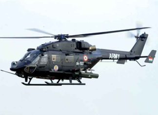 Rudra Helicopter Indian Army